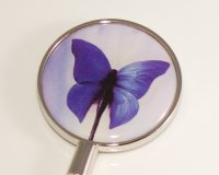 Blue Butterfly Handbag Hook