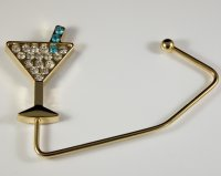 Martini - Gold Chic Handbag Hook