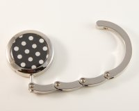 Polka Dot Foldable Handbag Hook