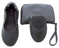 Tipsyfeet Black Foldable Shoe