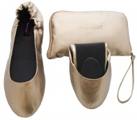 Tipsyfeet Bronze Foldable Shoe