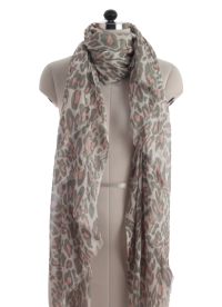 Elsa Soft Leopard Print Fashion Scarf