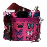 Red Dog Butterfly Canvas Bagpod (Available in 2 Colours)