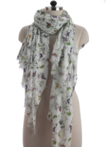 Elsa Butterflies Fashion Scarf