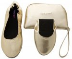 Tipsyfeet Gold Foldable Shoe