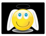 Sticky 'N Grippy Smiley Angel Screen Cleaner